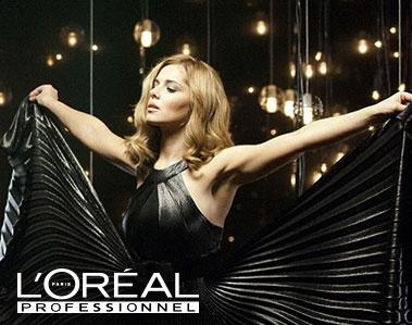 Wij werken met L'Oreal...